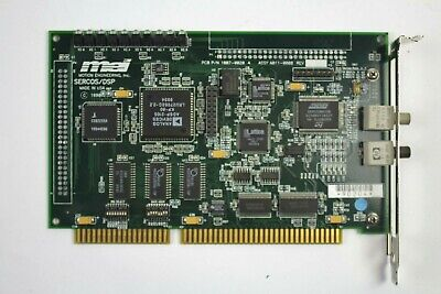 Mei Motion Engineering A011-0008 Sercosdsp Isa 8-axis Controller Card 1007-0020