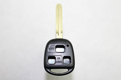 New Keyless Entry Remote Key Fob Shell Case For a 2005 Toyota Land Cruiser
