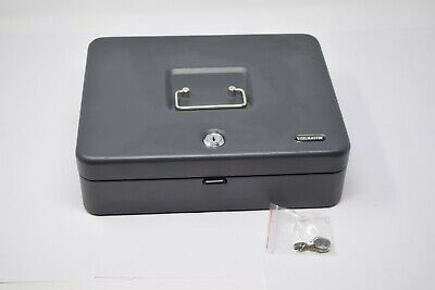 Steelmaster Steel Master Multi Level Cash Lock Box W Keys Unused.