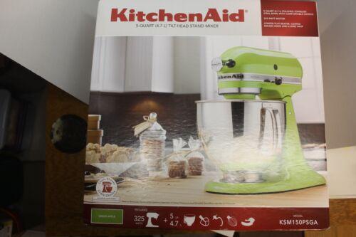 KitchenAid Artisan Series Tilt-Head Stand Mixer Green Apple KSM150PSGA