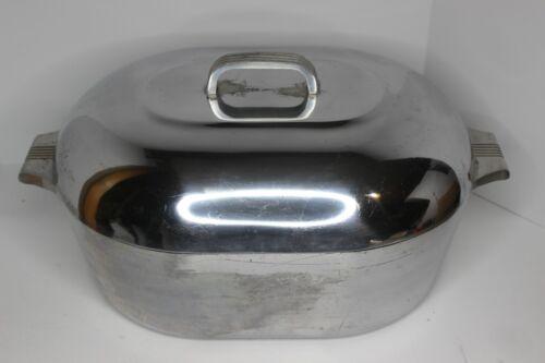 Wagner Ware Sidney 0 Magnalite 4267M Turkey Roaster Dutch Oven Trivet 13 Qt