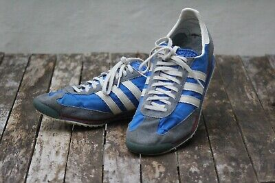 Adidas SL 72  Vintage Mens Trainers, Blue / White / Red, Size 12 (UK)