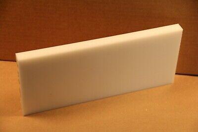 34 Delrin Block Natural Acetal Sheet 5x11.5 Cnc Millstock Plastic 4509