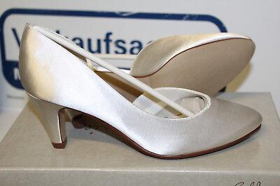 Gold Satin Schuhe (GOLDMARIE FAIRY TALE  BRAUTSCHUHE HOCHZEITSSCHUHE ABENDSCHUHE SATIN Gr 39 Neu)