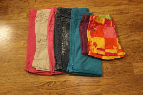 LOT of 7 Girls Shorts Size 8 (Children's Place, Arizona Jean, and More!)