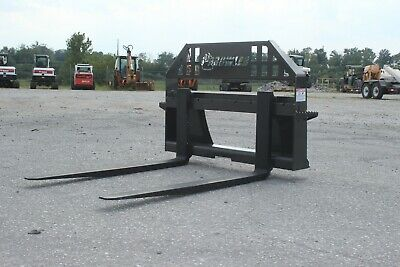 New Prowler Heavy Duty 48 Skid Steer Pallet Forks - 5500lbs. Made In Usa