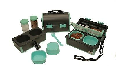 My PetPail Pet Food and Water Dish   Elevated Pet Bowls for Home and Pet Travel