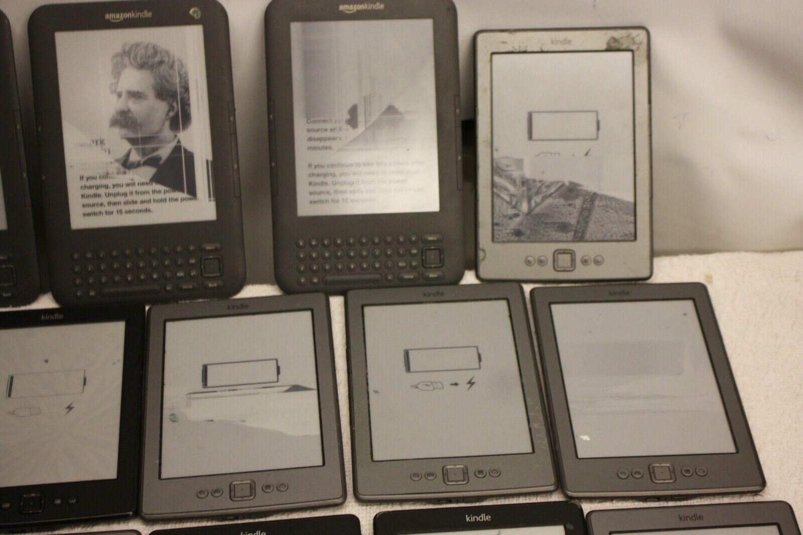 Lot en gros x 20 amazon kindle tablettes mixte d01100