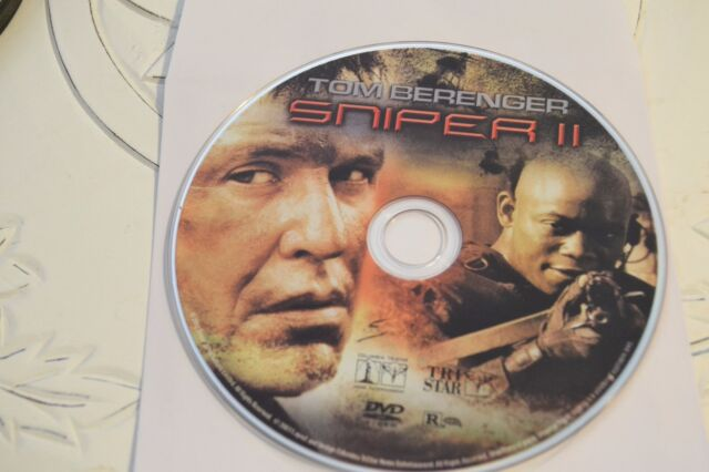 Sniper 2 (DVD, 2003)Disc Only Free Shipping