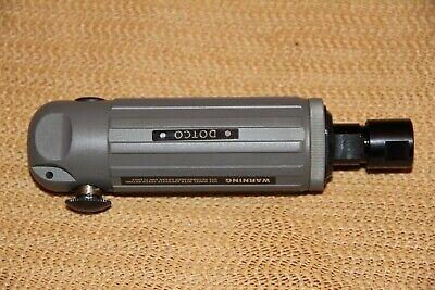 New Dotco Inline Die Grinder 10b25 Series 0.9hp Button Start Rare