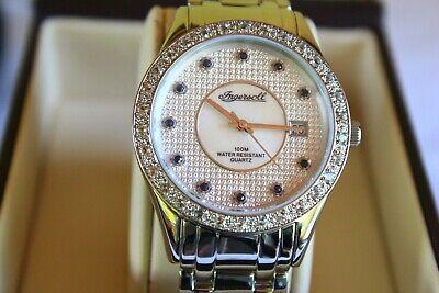 Beautiful Ingersoll Gems Mens Watch  Model : iG0313IL - Silver Bracelet  - NEW