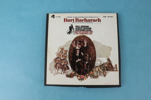 BUTCH CASSIDY & SUNDACE KID 4 TRACK 7 1/2 IPS REEL TO REEL TAPE A&M 4227 VG++