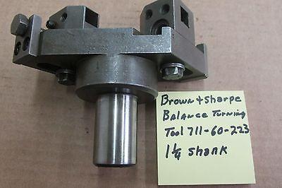 Brown Sharpe Balancing Turning Tool Holder 1 14 Shank