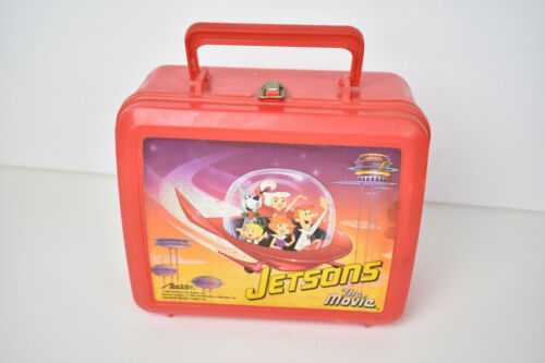 1990 The JETSONS Movie Plastic Lunch by Aladdin