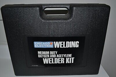Chicago Electric Heavy Duty Oxygen Acetylene Welding Torch Welder Kit 98958 New