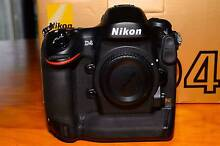 Nikon D4 Body 16MP 3.2-inch LCD SLR Camera Kuraby Brisbane South West Preview