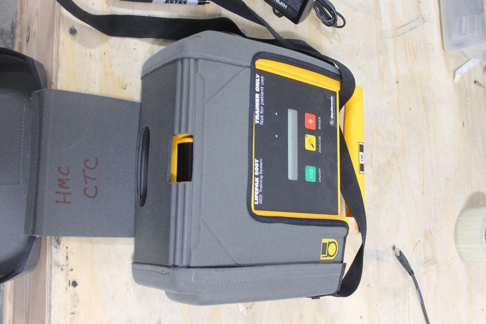 Medtronic Physio-Control Lifepak 500T AED Defibrillator Training System