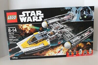 Lego Star Wars Y-Wing Starfighter 75172 NEW IN SEALED BOX Y WING RETIRED