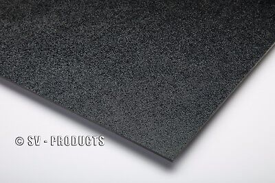 Abs Plastic Sheet Black Vacuum Forming 18 Thick 24 X 24 - 251e