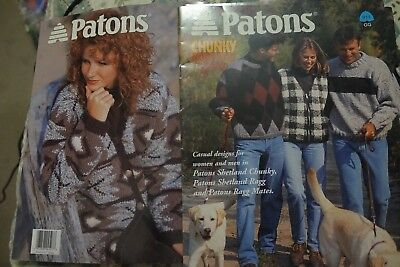 Шаблоны Paton's Knitting Book 911 Chunky