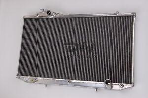 NEW 3Rows Aluminum Radiator Toyota Aristo Jzs161 2jz-gte 98 99 00 01 02 03 04 05