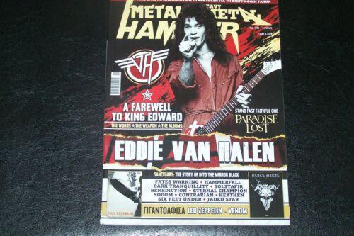 GREEK METAL HAMMER MAG 11 / 2020 EDDIE VAN HALEN PARADISE LOST FATES WARNING