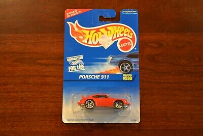 NEW NIP HOT WHEELS PORSCHE 911 CARRERA P-911 P911 RED