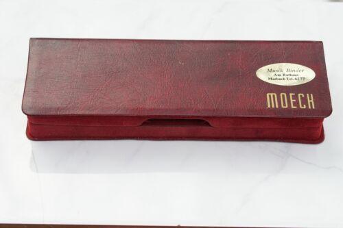 Moeck 121 shool soprano Barock,boxed,vintage