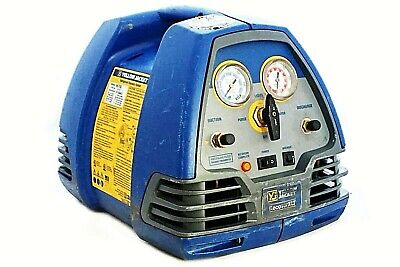 Yellow Jacket Refrigerant Freon Refrigeration Hvac Recovery Machine Unit