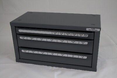 Huot Fractionlsizes 14-20 To 1-12tap Dispenser Index Organizer Cabinet-13500