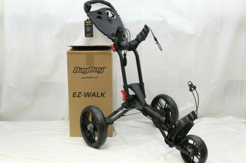 New Bag Boy EZ Walk Push Pull Golf Cart Bag Carrier - BagBoy Choose Color