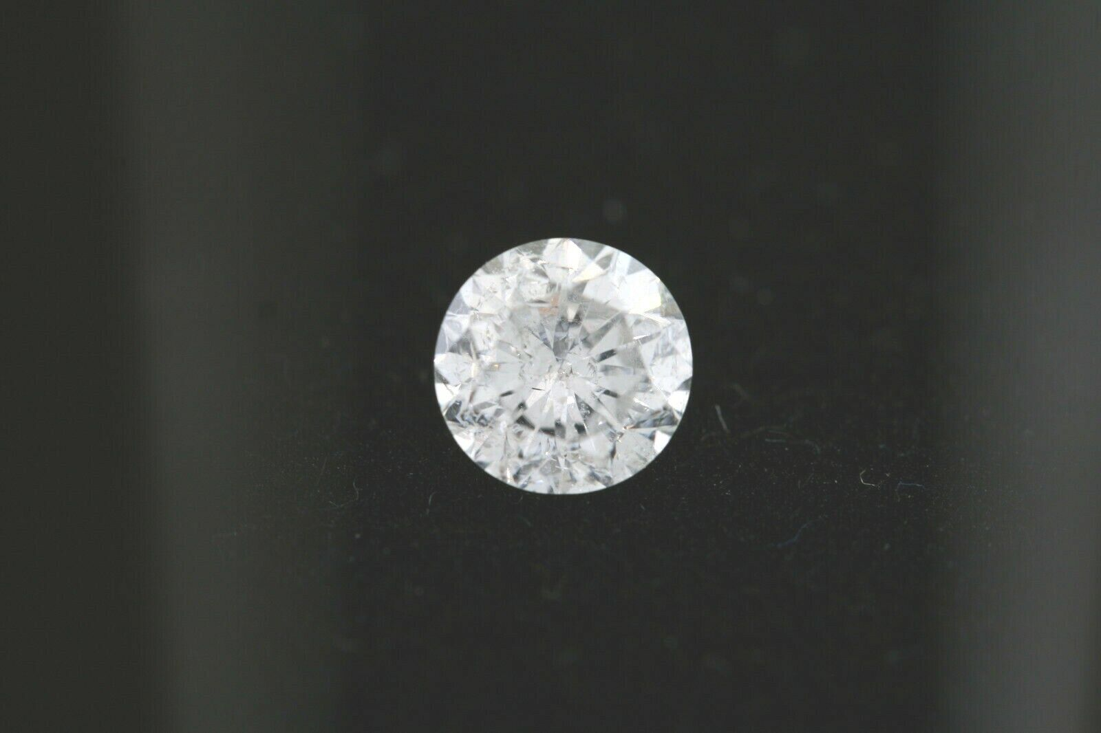 GIA Certified .50ct Round Loose Diamond F color, I1 clarity 4.90-4.99 x 3.26mm