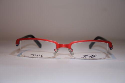 JF REY JF 2076 3000 Halbrand 50[]18 Unisexbrille Titane Rot Brille