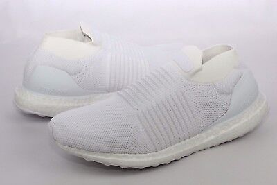 143.95. Adidas UltraBOOST Laceless Ivory Running Shoes Mens Size 11.5 ... 49df4d5c1