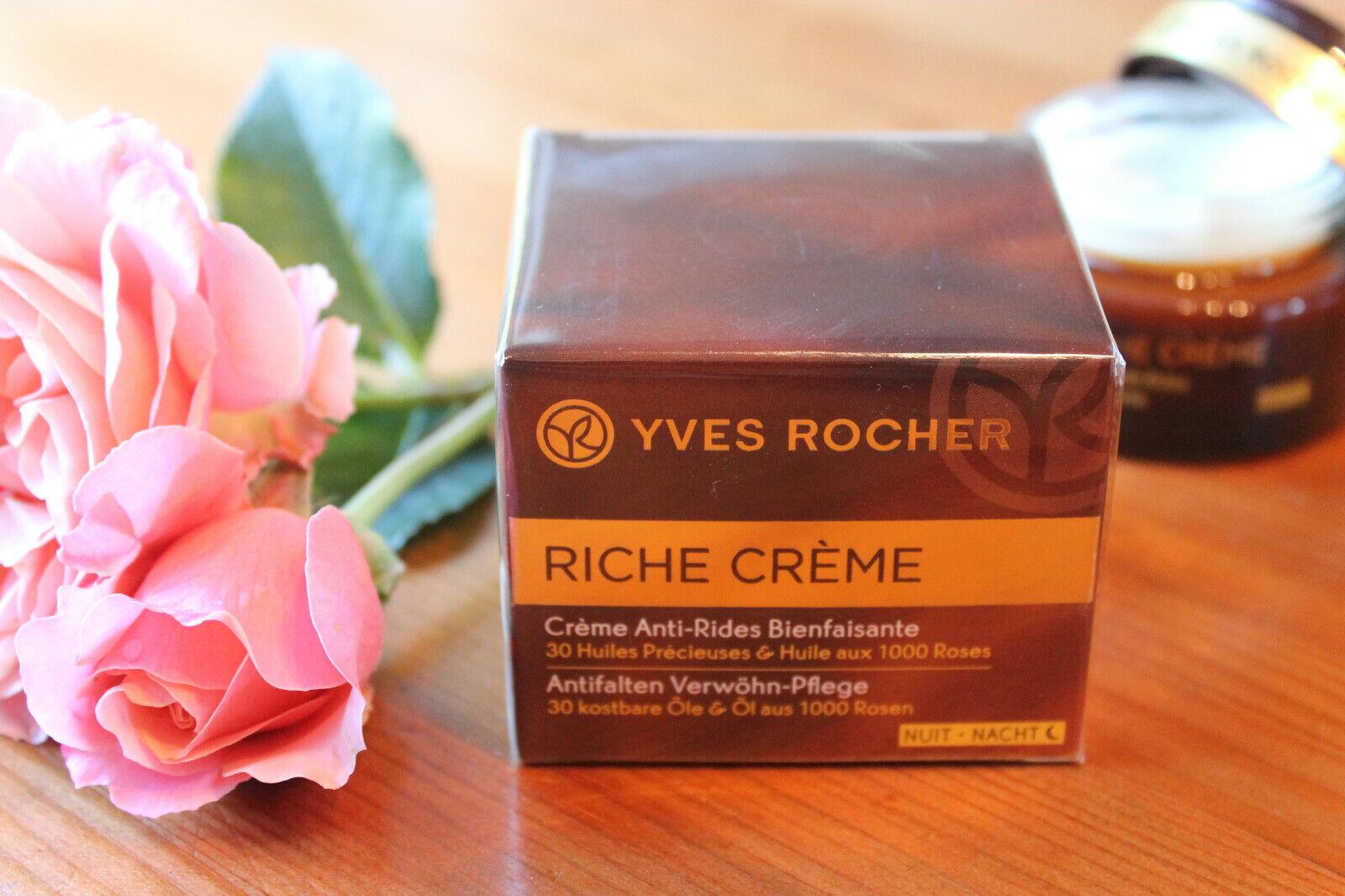 Yves Rocher Riche Creme Anti-Falten Pflege 50ml, NEU
