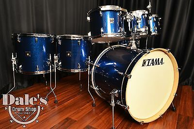 Tama drums set Superstar Classic Maple Indigo Sparkle 7 piece CK72S ISP kit NEW