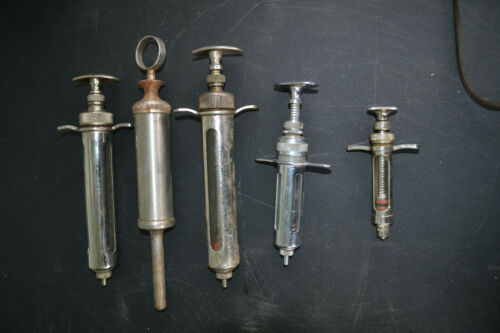 6 Veterinary Syringes
