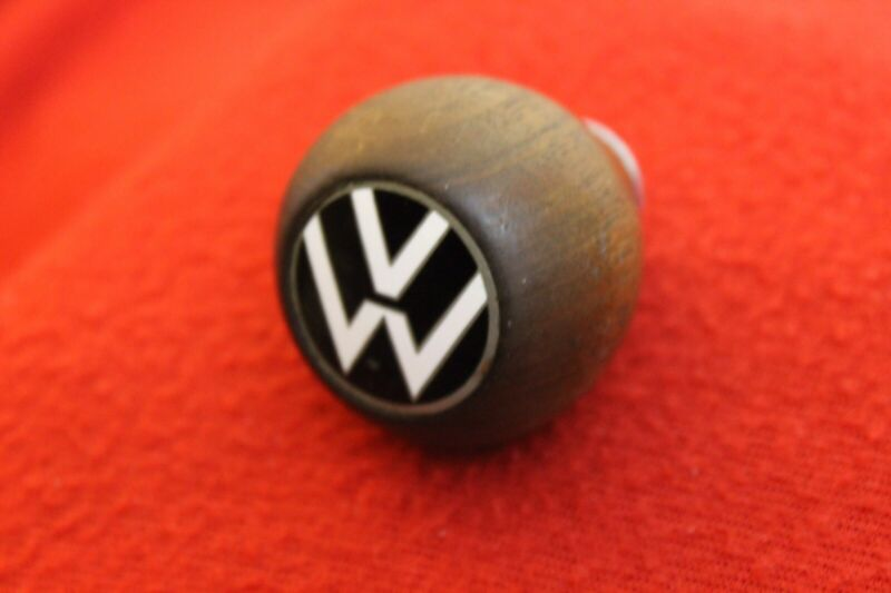 VW Volkswagen Wood Wooden Gear Shift Knob Handle Accessory Bug Beetle Bus VW2