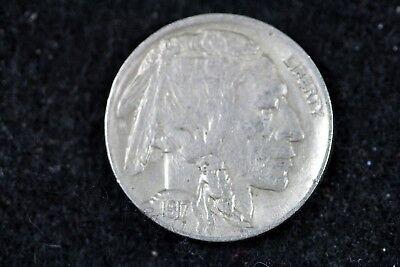 Estate Find 1917 - D Buffalo Nickel!!  #H15897