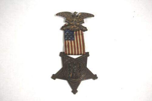 US Civil War Veterans 1861/1866 Grand Army of the Republic Medal GAR NUMBERED
