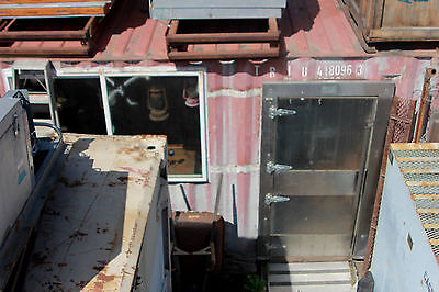 Conex Live-in Storage Container Off Grid 40 Ft Metal