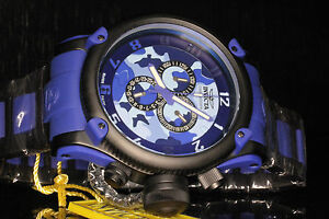 Invicta Men's 11605 Russian Diver Swiss Made Chrono Blue