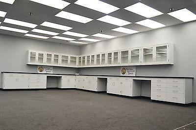 Laboratory 35 Base 30 Wall Furniture Cabinets Case Work Fast Ship-e1-088