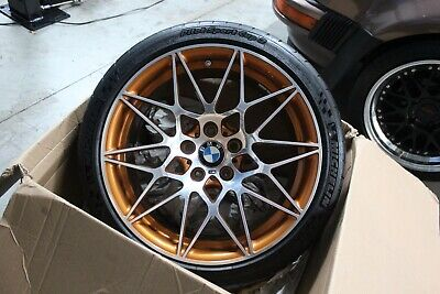 OEM BMW M4 GTS Alloy Rim Forged - Star Spoke Front Wheel (PN# 36112287510)