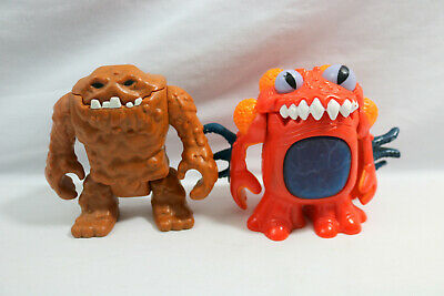 Fisher Price Imaginext DC Clayface Mud Man & Power Ranger Toad Alien - ID#0510