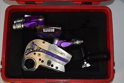 Hytorc Stealth-2 4 1 12 Link And Two Stealth-2 Power Drives Case Nice