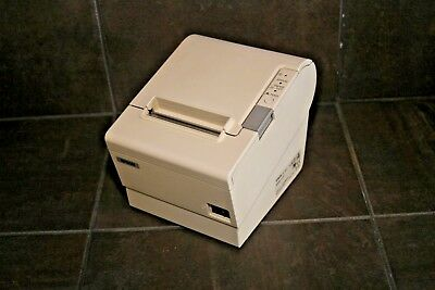 Epson Tm-t88iv Model M129h Pos Thermal Receipt Printer Usb White Refurbished