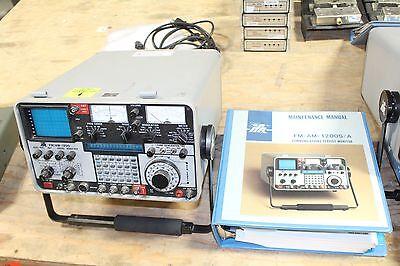 Aeroflex Ifr Fmam 1200a Communications Service Monitor