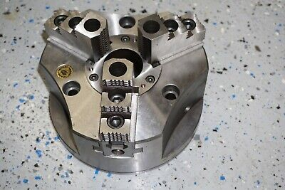 New Bison 8 2405-200m 3 Jaw Power Chuck