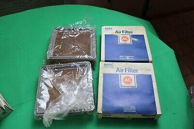 2 NOS GENUINE GM AC Air Filter Element 85-92 CAMARO IROC FIREBIRD 25043246 A918C 2 Genuine Filters